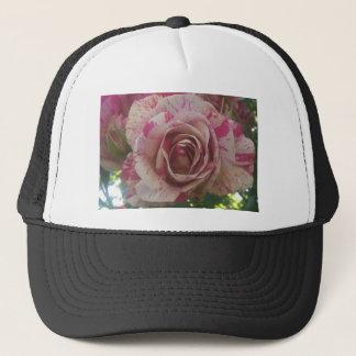 Boné Rosa branco vermelho