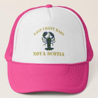 Boné Rosa do chapéu da lagosta de Nova Escócia do bebê