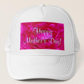 Boné Rosa feliz do rosa do dia das mães