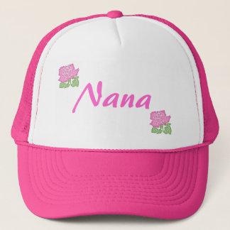 Boné Rosa Nana do rosa Chapéu-Customizável