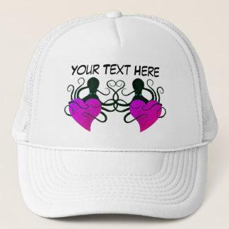Boné Rosa Purplish do amor do polvo - chapéu do