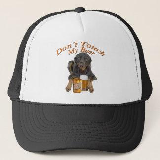 Boné Rottweiler não toca em minha cerveja