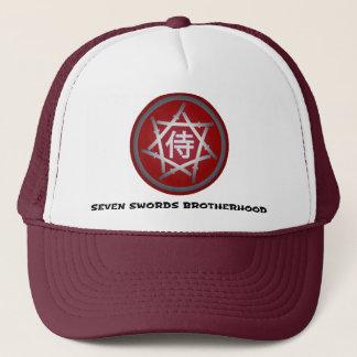 Boné Roupa de sete espadas - chapéus - emblema vermelho