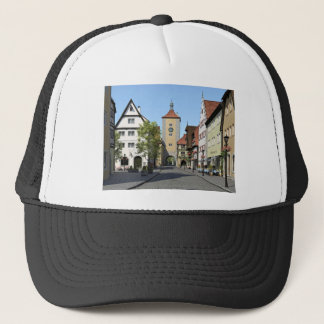 Boné Rua principal da cidade de Baviera