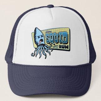 Boné Rum do calamar
