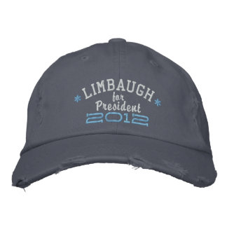 Boné Rush Limbaugh para o presidente 2012