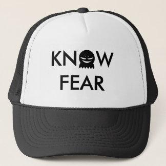 Boné Saiba o chapéu do camionista do medo