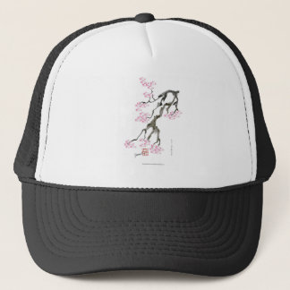 Boné sakura com peixe dourado cor-de-rosa, fernandes