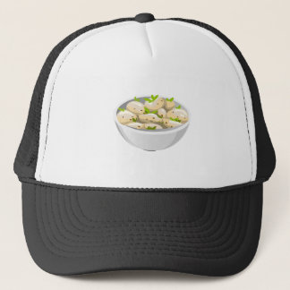 Boné Salada de batata preciosa da comida do pulso