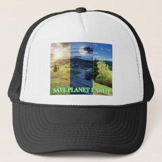 Boné Salvar a terra do planeta