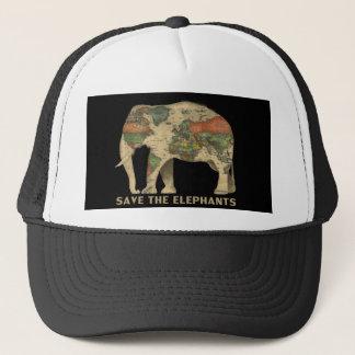 Boné Salvar o chapéu do elefante