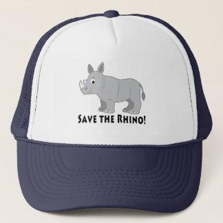Boné Salvar o rinoceronte!