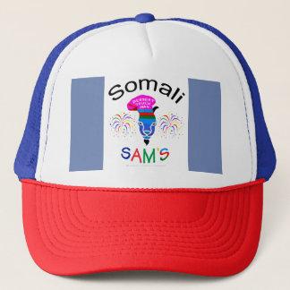 Boné Sam somaliano, homem da sobremesa, chapéu da