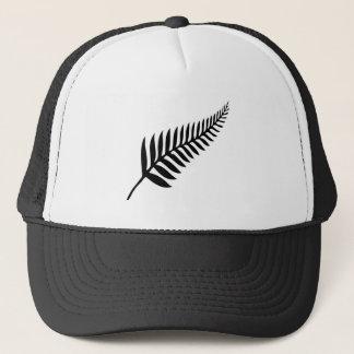 Boné Samambaia de prata de Nova Zelândia
