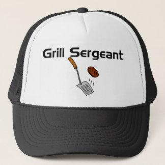 Boné Sargento Chapéu da grade