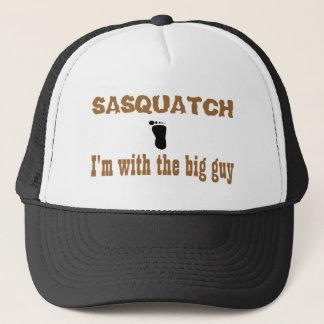Boné Sasquatch eu sou com a cara grande