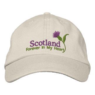Boné Scotland em meu coração