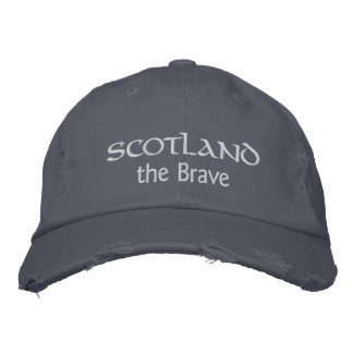 Boné Scotland o chapéu bravo - mostre o espírito