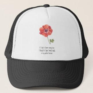Boné Se eu tive uma flor