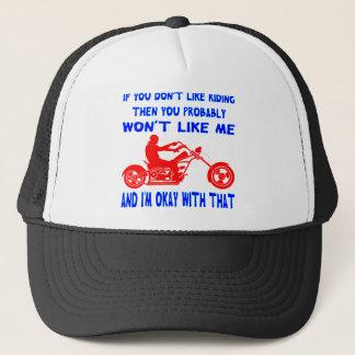Boné Se você não gosta de montar então você não