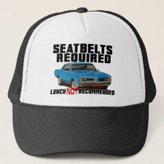 Boné Seatbelts exigidos para GTO