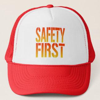 Boné Segurança em primeiro lugar