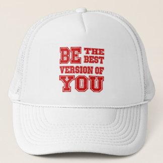 Boné Seja a melhor versão de você chapéu do camionista