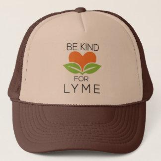 Boné Seja chapéu amável do camionista - consciência de