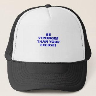 Boné Seja mais fortes do que suas desculpas