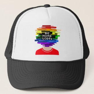Boné Seja mais LGBTQ seja mais design frio