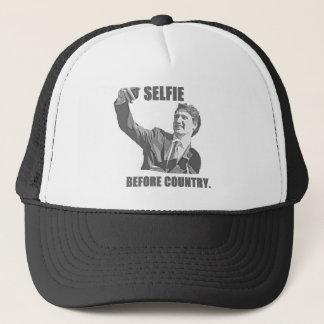 Boné Selfie antes do país - Trudeau