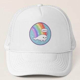 Boné Selo bonito do arco-íris