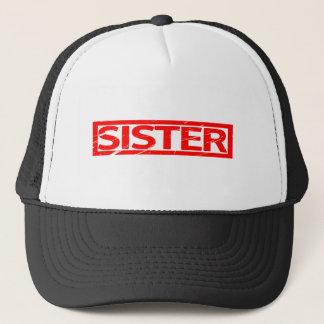 Boné Selo da irmã