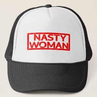 Boné Selo desagradável da mulher