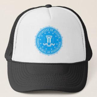 Boné Selo do FBI no azul