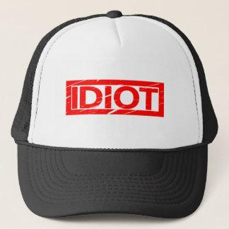Boné Selo do idiota