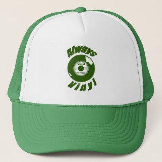 Boné Sempre verde do vinil
