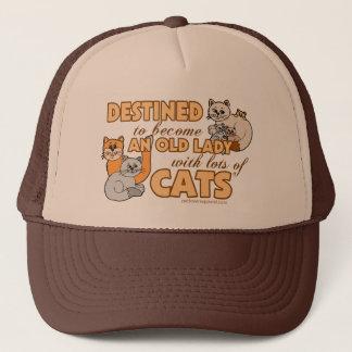 Boné Senhora Com Lote dos gatos