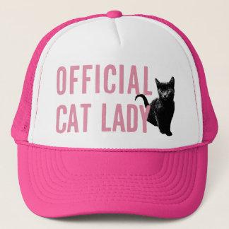 Boné Senhora oficial Chapéu Cor-de-rosa do gato