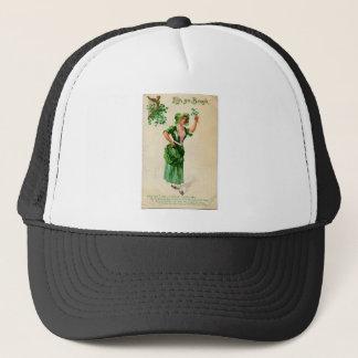 Boné Senhora original do dia de patrick de santo no