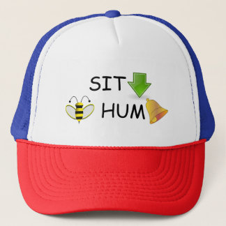 Boné Sente o chapéu do zumbido