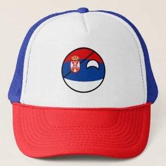 Boné Serbia Geeky de tensão engraçado Countryball