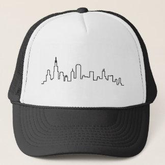 Boné Série da skyline de Chicago