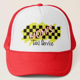 Boné serviço do táxi da mãe