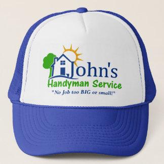 Boné Serviços do trabalhador manual de Johns