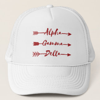 Boné Seta alfa do delta da gama