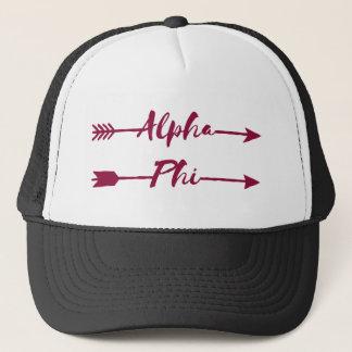 Boné Setas alfa da phi |