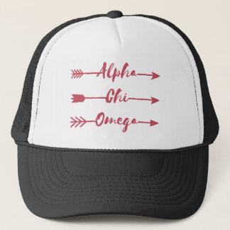 Boné Setas alfa de Omega | do qui