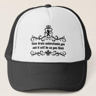 Boné Seu cérebro compreende-o citações medievais