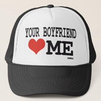 Boné Seu namorado ama-me